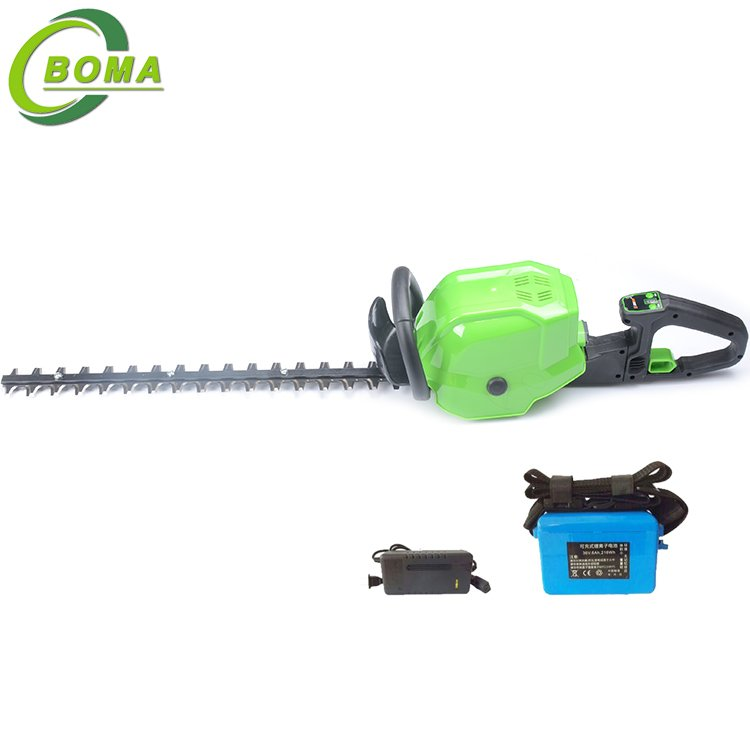 Good Quality Electric Engine Dual Blade Type Hedge Cutter for Municipal Garden