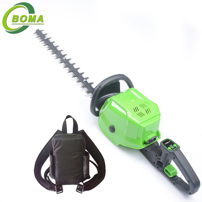 Newest Dual Scissor Type and Lithium Battery Power Source Multi-purpose Hedge Trimmer for Landscape