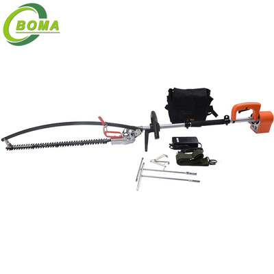 Newest Long Pole Electric Hedge Trimmer with Lithium Battery Backpack for Garden Shrubs