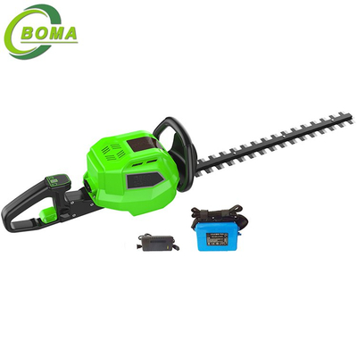 Top Quality 6AH Electric Dual Blade Hedge Cutter for Residential Landscaping