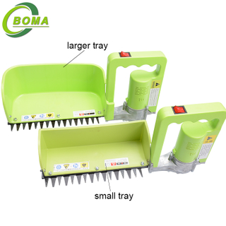 Single Hand Electric Mini Tea Leaf Harvester Plucking Machine for Tea Garden