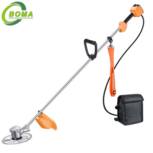 BOMA Brand Power Smart Cordless Brush Cutter for Overgrown Gardens