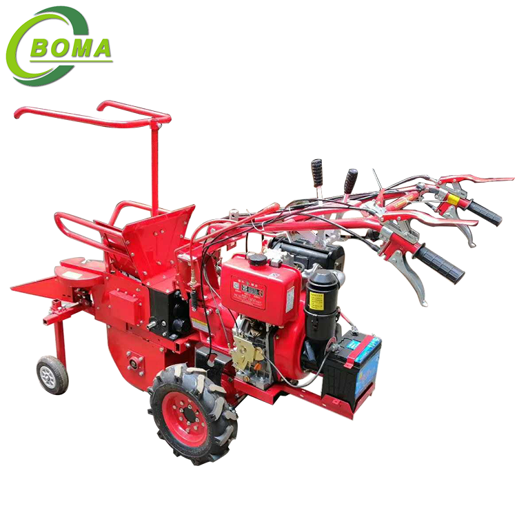 Customized Man-holding Corn Combine Harvester for Harvest Corns And Crush Straws