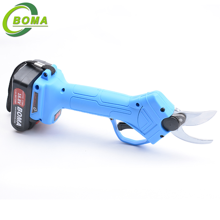 Best Selling Li-ion Battery Powered Electric Pruning Shears For Orchard