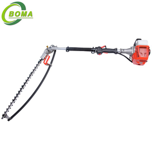 Latest Adjustable Long Reach Gas Hedge Trimmer for Bushes and Shrubs