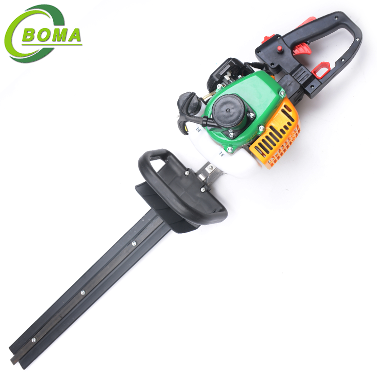 2 Stroke Engine Gasoline Dual Blades Tree Trimming Machine for Tea Plantation