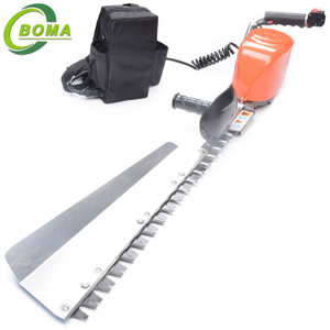 Speed Adjustable Battery Powered Electric Single Blade Tree Bush Hedge Trimmer