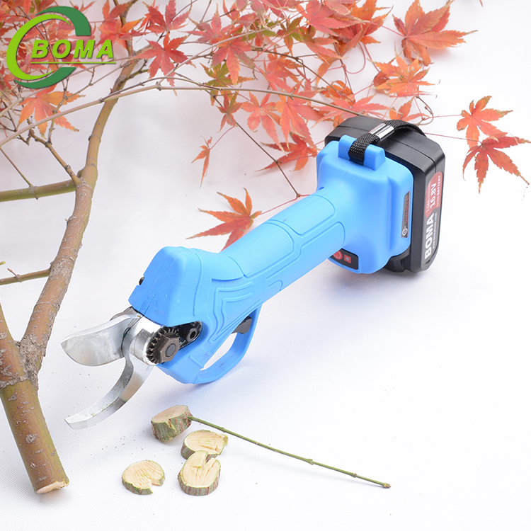 Low Price Battery Powered Pruner with Two Lithium Batteries for Orchard
