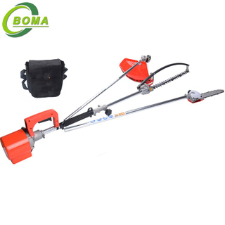 3 in 1 Multifunctional Garden Tools with Pole Saw Grass Cutter and Hedge Trimmer