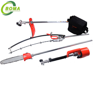 BOMA Distinguished Multi-purpose 3 in 1 Hedge Cutter Lawn Mower and Chain Saw