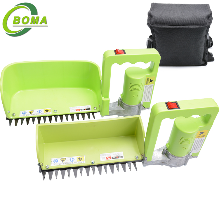 Rechargeable Small Tea Leaf Plucking Machine with Collecting Tray