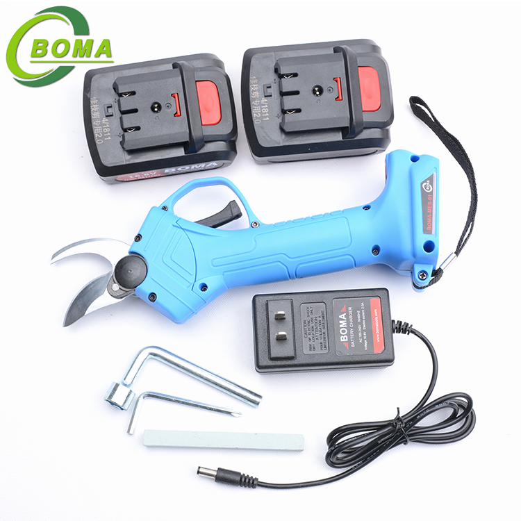 BOMA Light Weight Mini Built-in Battery Garden Scissors for Flowers