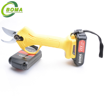 BOMA TOOLS Li-ion Battery Powered Electric Pruning Shears For Orchard