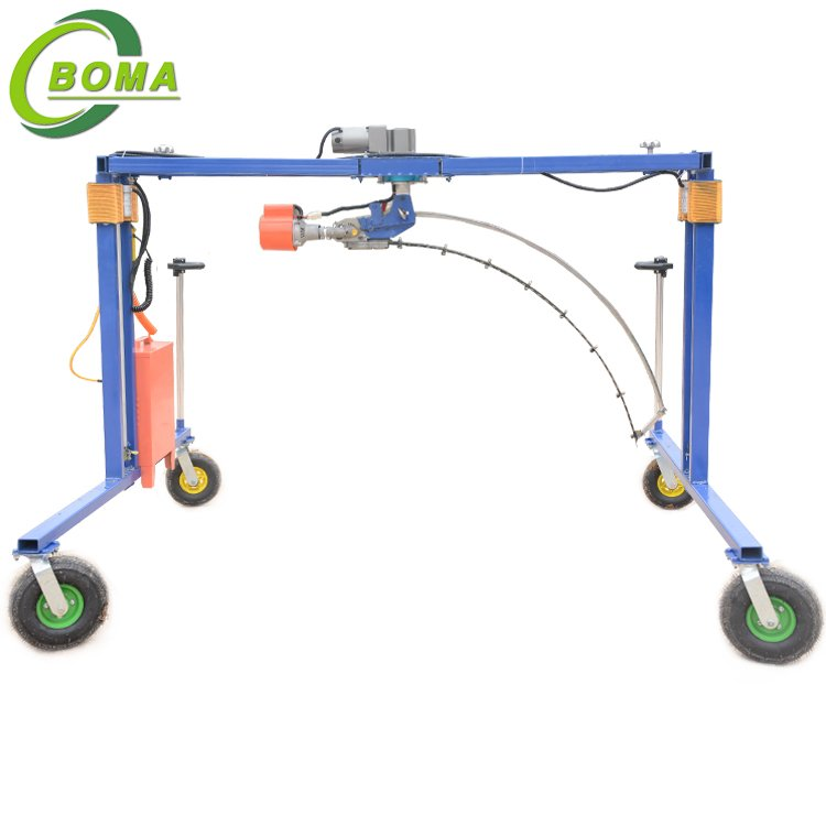 Competitive Price Pruning Machine for Trimming Spherical Plants and Shrubs