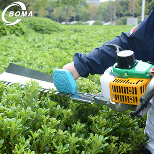 Gasoline 750mm 22.5 CC Single Blade Tea Hedge Trimmer for Farm Field