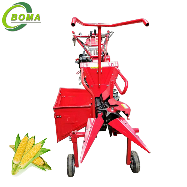 Widely Used Self Walking Mini Maize Harvester for Farm Field