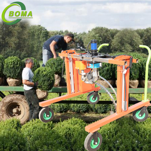 Round Bushes Automatic Trimming Machine for Round Young Plant Field And Nursery