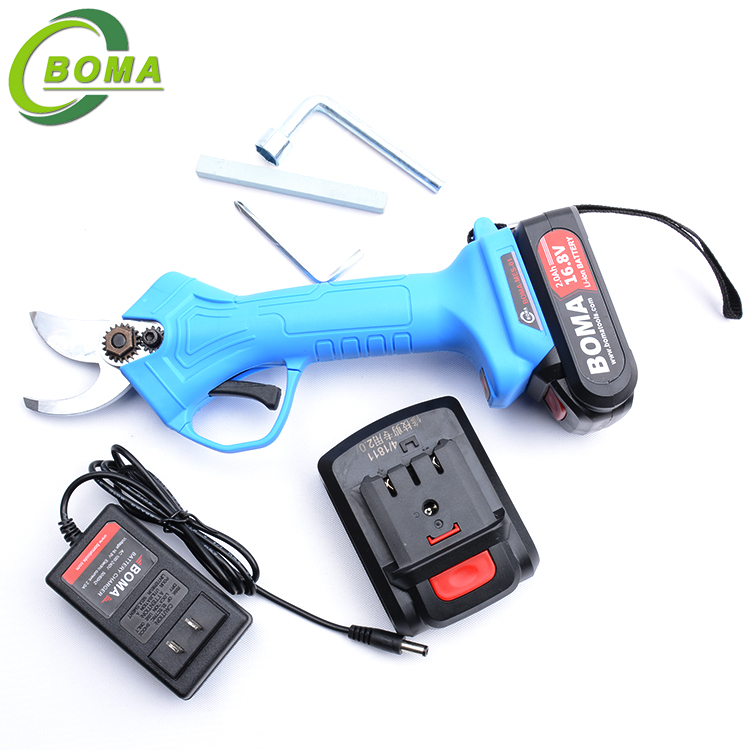 BOMA TOOLS Lithium Rechargeable Cordless Electric Pruning Shear For Orchard
