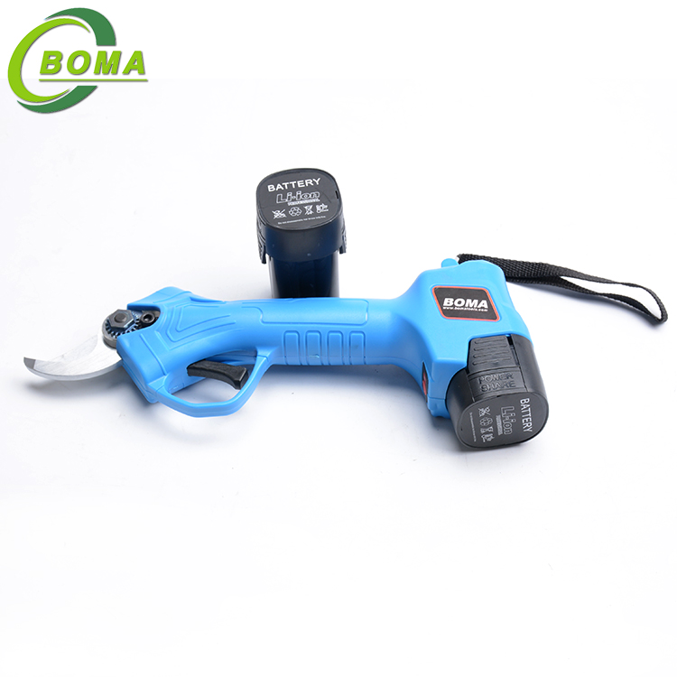 Factory Price 16.8V Electric Garden Pruning Scissors for Farm Field
