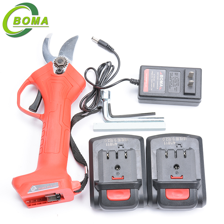 New Invented Lithium Rechargeable Cordless Industrial Electric Scissor for Pruning Tea Branches
