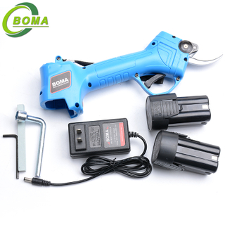 BOMA NE Brand 25mm Electric Pruner with Brushless Motor for Fruit Tree Branches